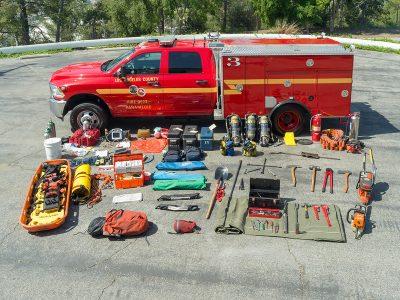 Paramedic Unit with Equipment